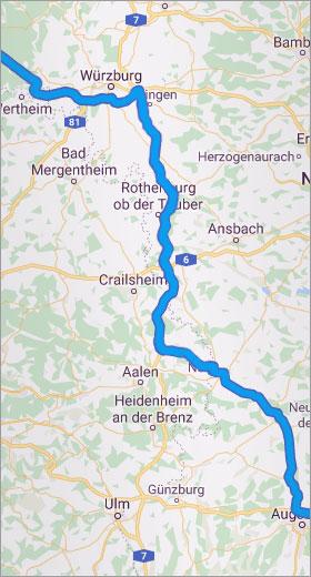 Routenplanung mit Microsoft MapPoint
